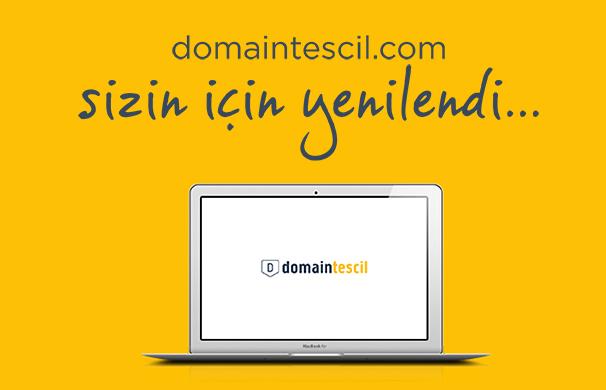 Domaintescil Yenilendi